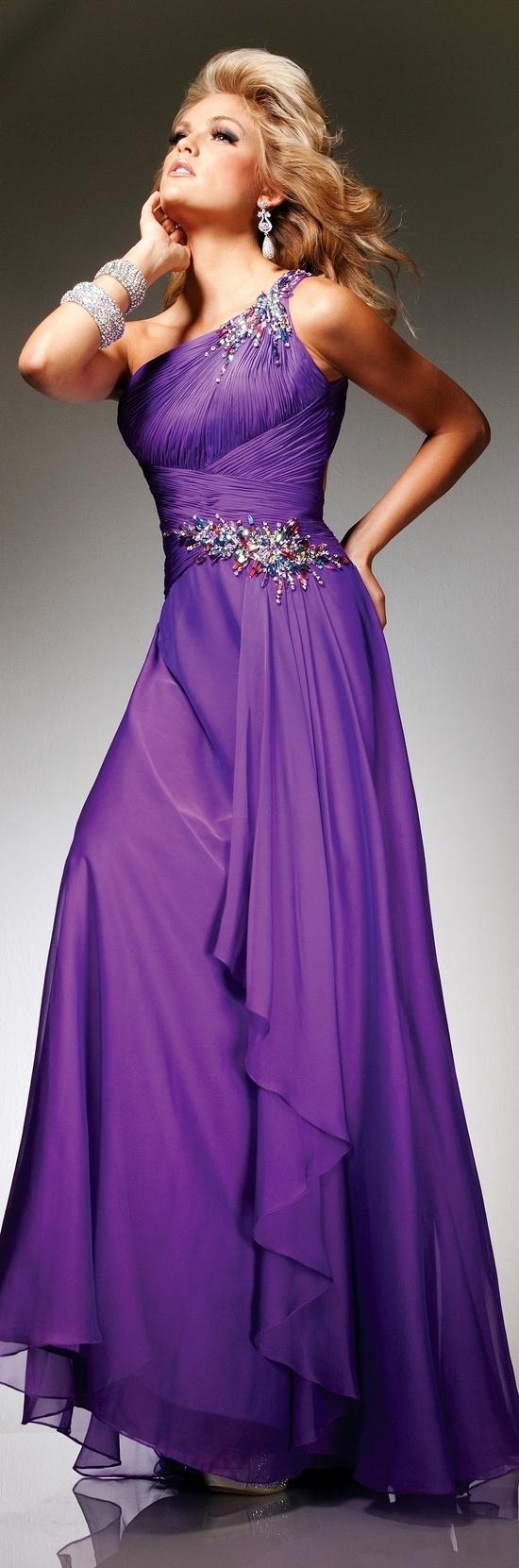 Purple dress purple pinterest prom night purple dress and