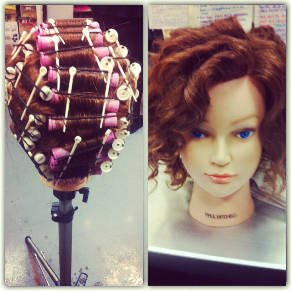 Straight perm solution - Perm Rods With No Solution Before And After