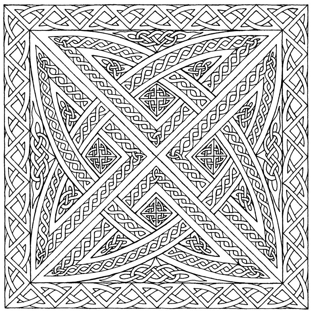 coloring pages : Geometric Coloring Pages For Adults coloring pagess | 1024x1022