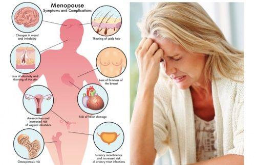 ladies menopause symptoms