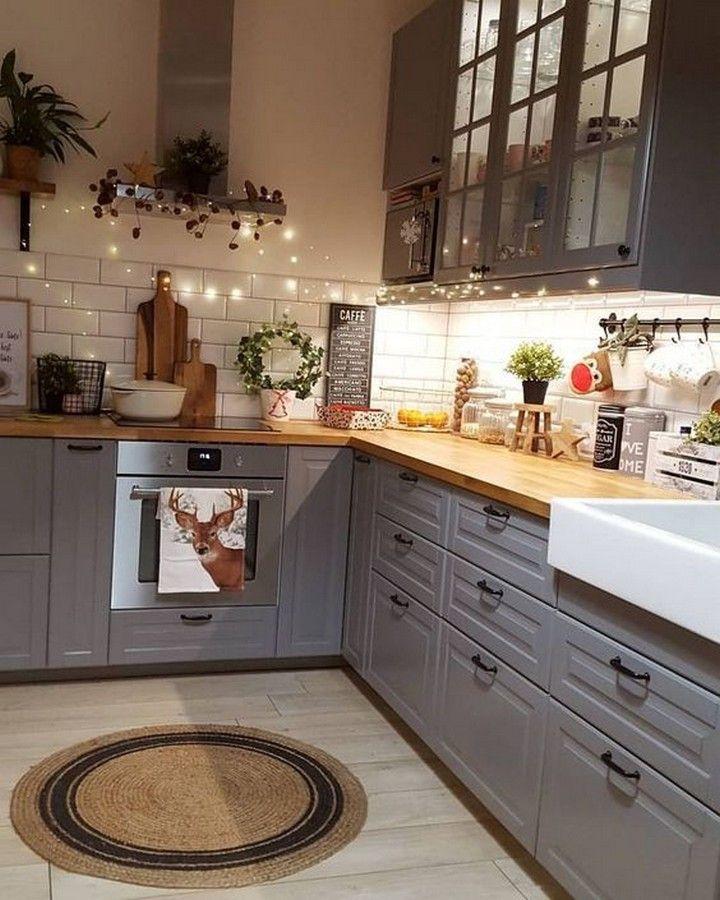Genius Small-Kitchen Decorating Ideas #smallkitchendecoratingideas