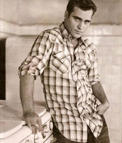 "Joaquin Phoenix...so in love with him in ""Walk the Line"". One of my favorite performances ever."