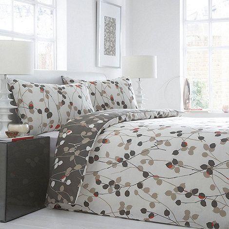 Debenhams Ivory Honesty bedding set- at Debenhams.com ...
