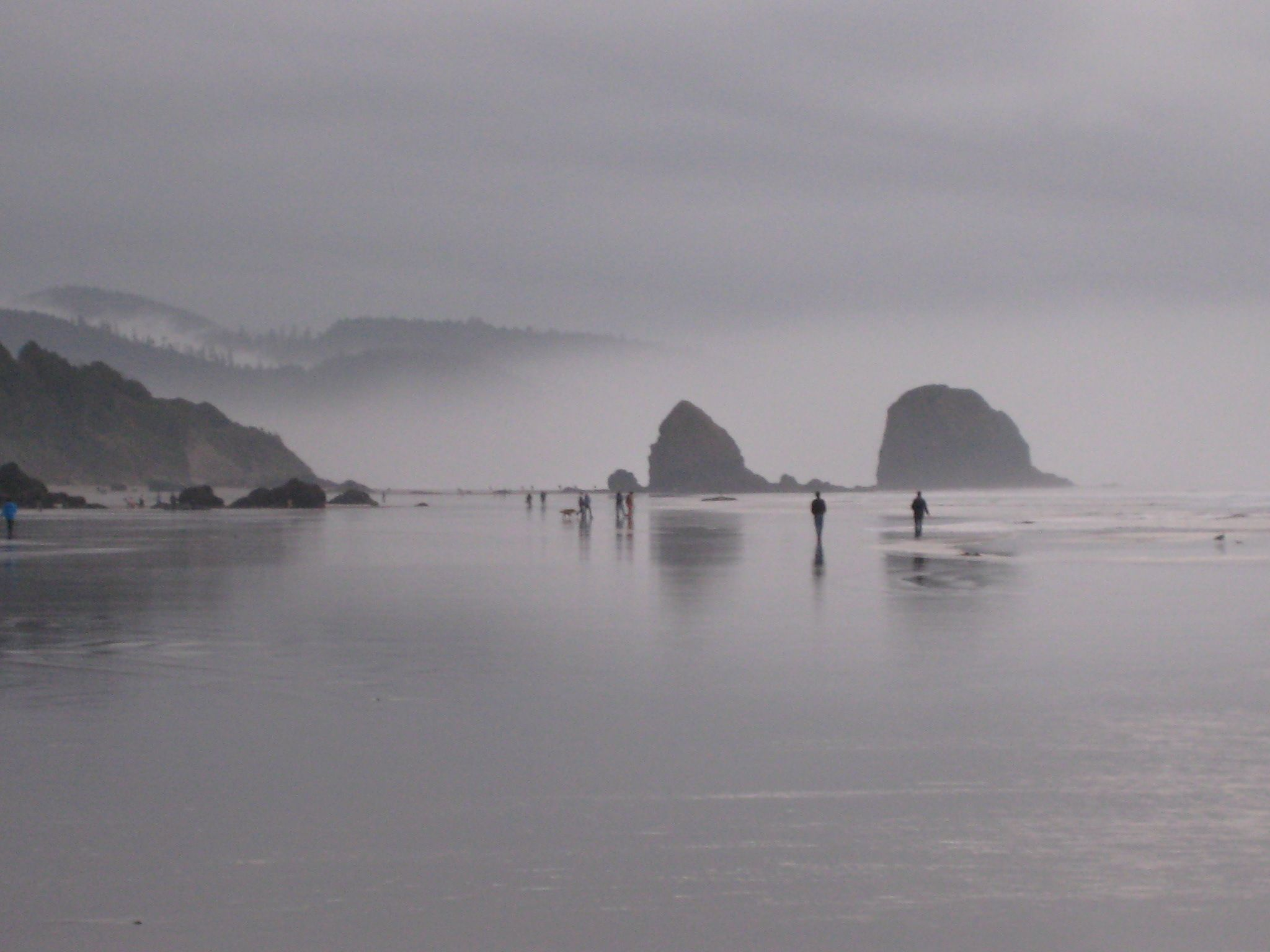 Missing of the old day  @Cannon Beach, Oregon