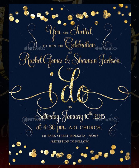 Wedding Invitation Template - 71+ Free Printable Word, PDF, PSD - download free wedding invitation templates for word