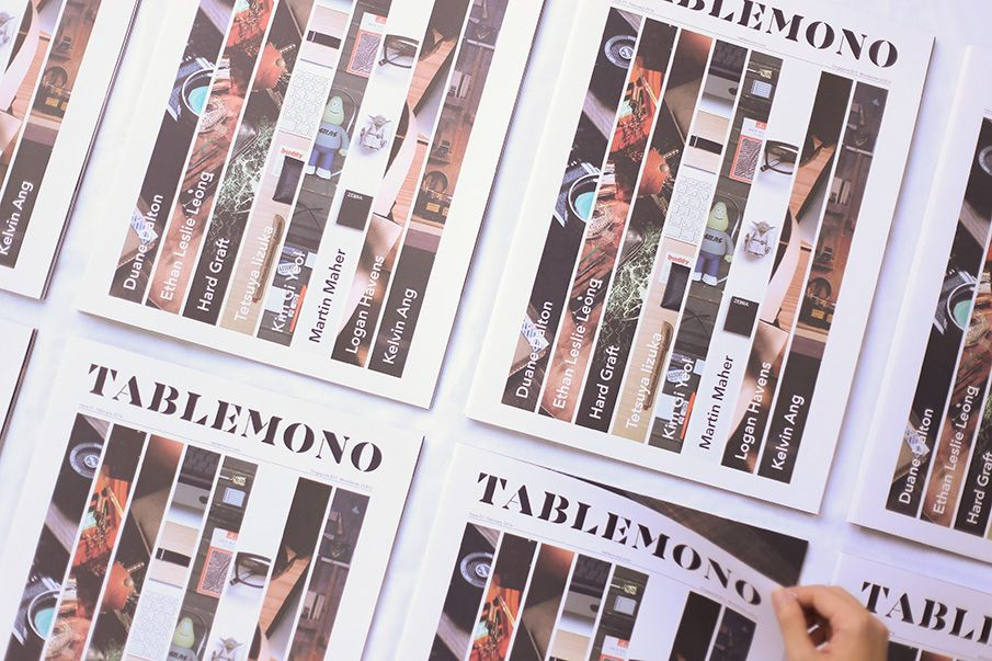 Tablemono on Behance | IOP Magazine/Book Research | Landing