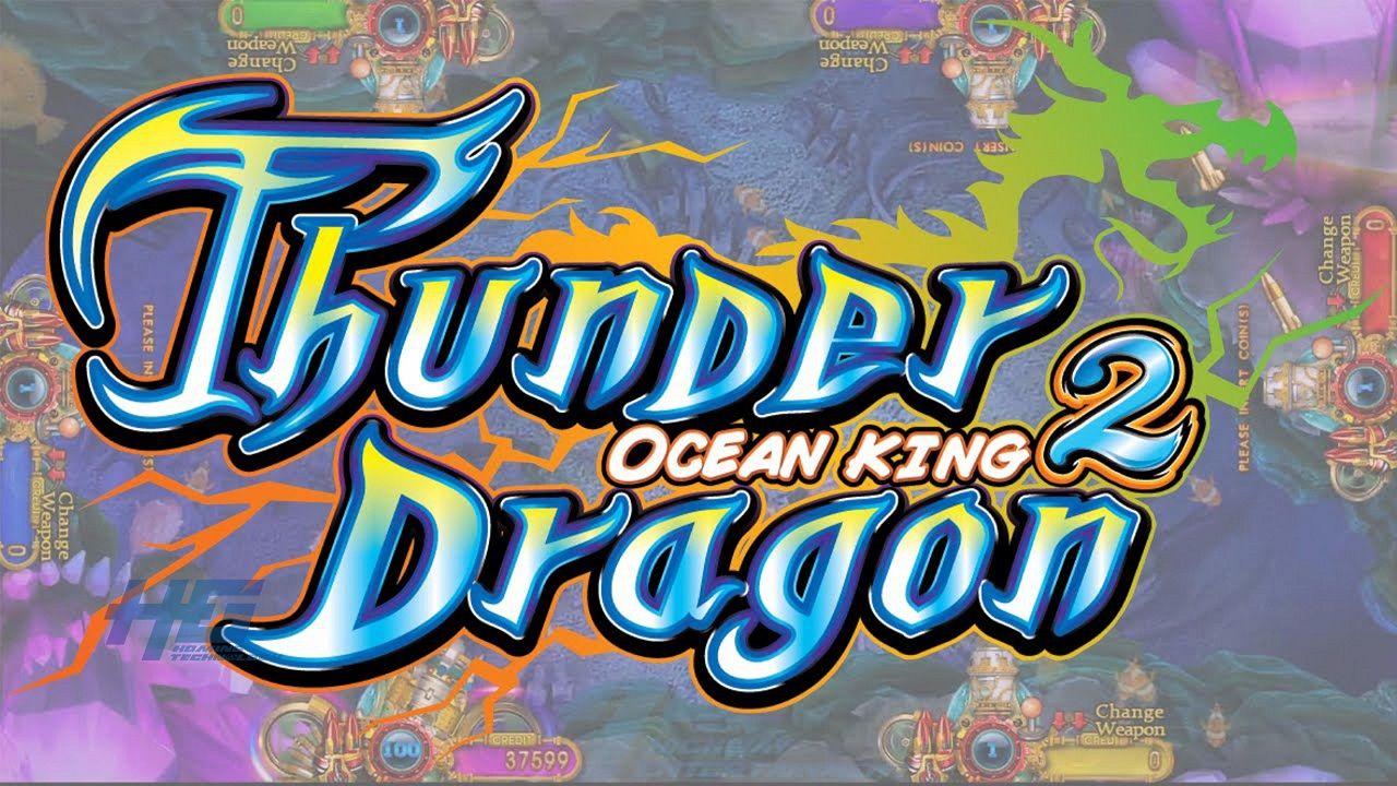 Hot US Gambling Center Original Thunder Dragon Fish Game
