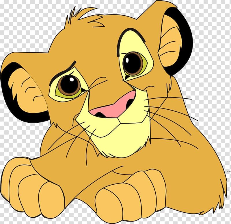 Simba From Lion King Simba Lion Lion King Transparent Background Png Clipart Lion Face Paint Lion King Art Lion Illustration