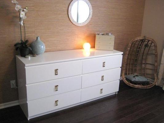 Look! Laura Personalizes an IKEA MALM Dresser Ikea malm