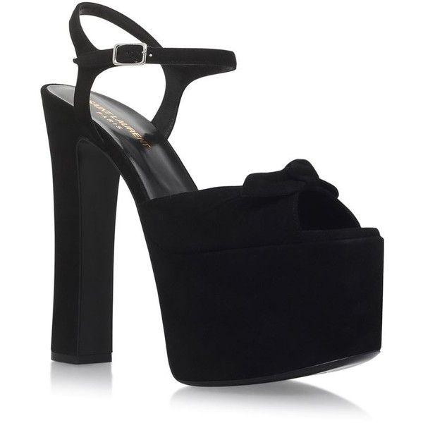 Saint Laurent Betty Candy 145 Sandal 730 Liked On Polyvore Featuring Shoes Sandals Ankle Wrap Shoes Cu Cutout Shoes Cutout Sandal Footwear Design Women