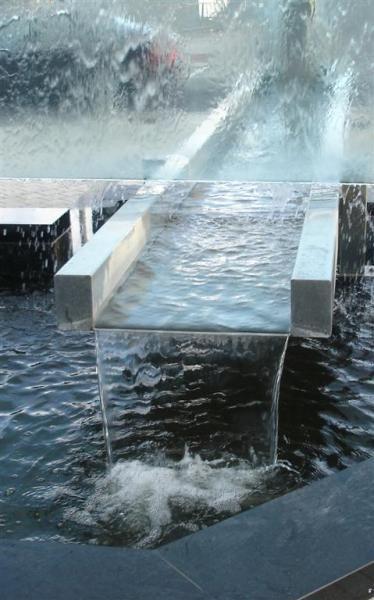Hilton Hotel Water Feature, Dublin, by Dawid Magiera