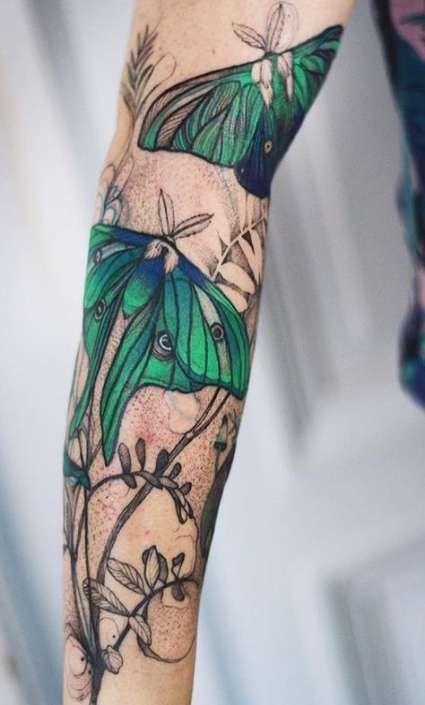 Flower tattoo traditional color 41+ ideas – tatttoos – #flowers #color #ideas #tattoo #tatttoos