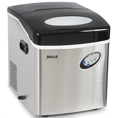 Della Stainless Steel Ice Maker Portable Countertop Frees Https