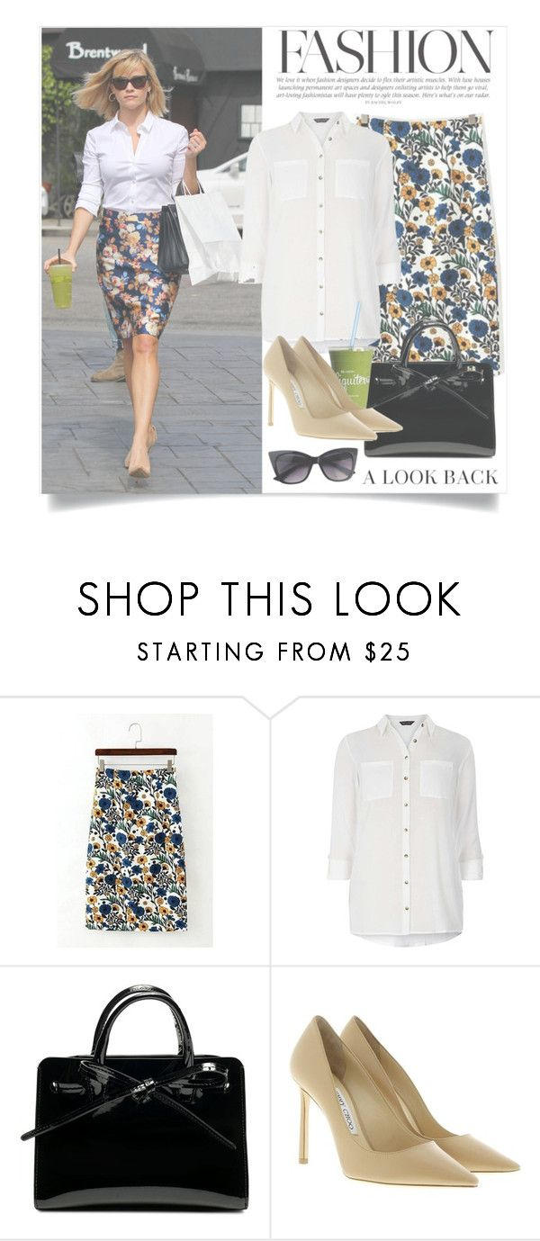 """""""Shopping Day"""" by forever-lover1 ❤ liked on Polyvore featuring J.Crew, Dorothy Perkins and Jimmy Choo"""