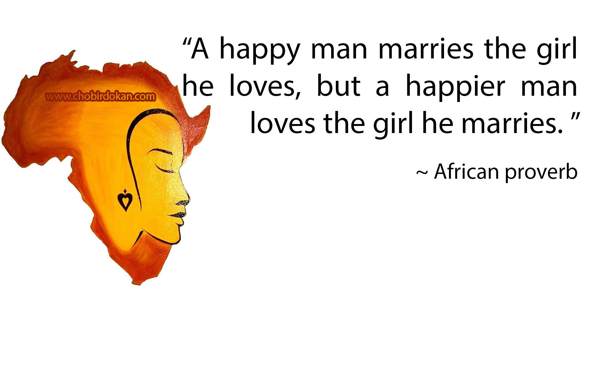 Ancient African Proverbs About Love That Will Make You Think-love
