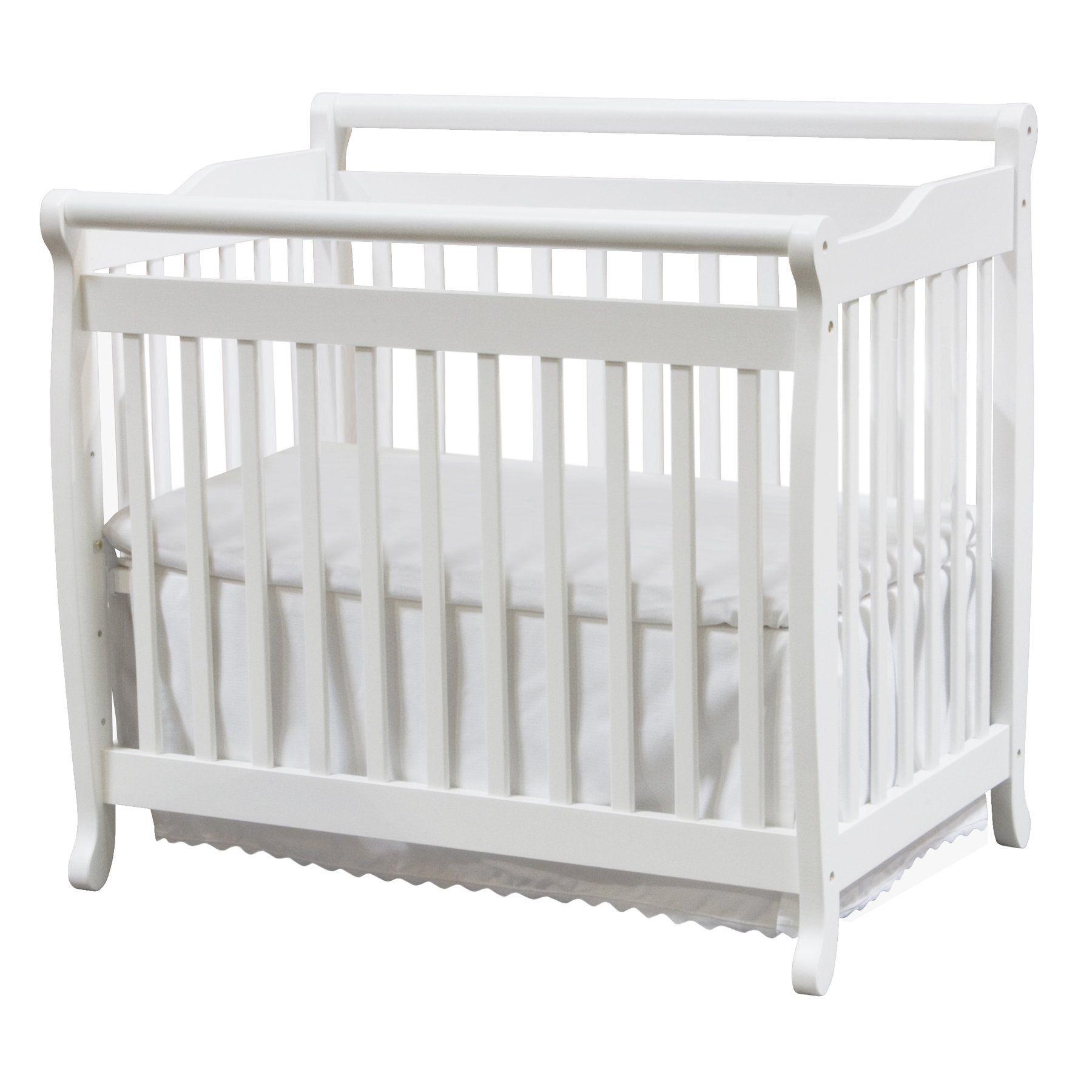 Amazon Com Davinci Emily Mini Crib Espresso Baby Mini Crib Cribs Cribs For Small Spaces