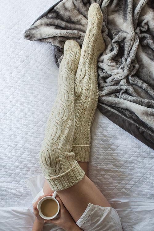 Photo of Yukon River Stockings Knitting Pattern