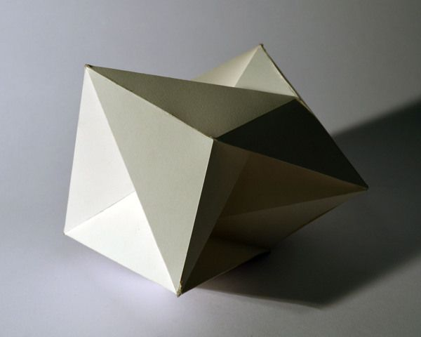 geometric forms - Google Search   Faceted Sculpture and Objects ...