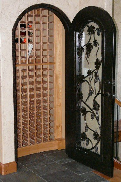 Wine cellars basement closet wine cellars and wine for Turn closet into wine cellar