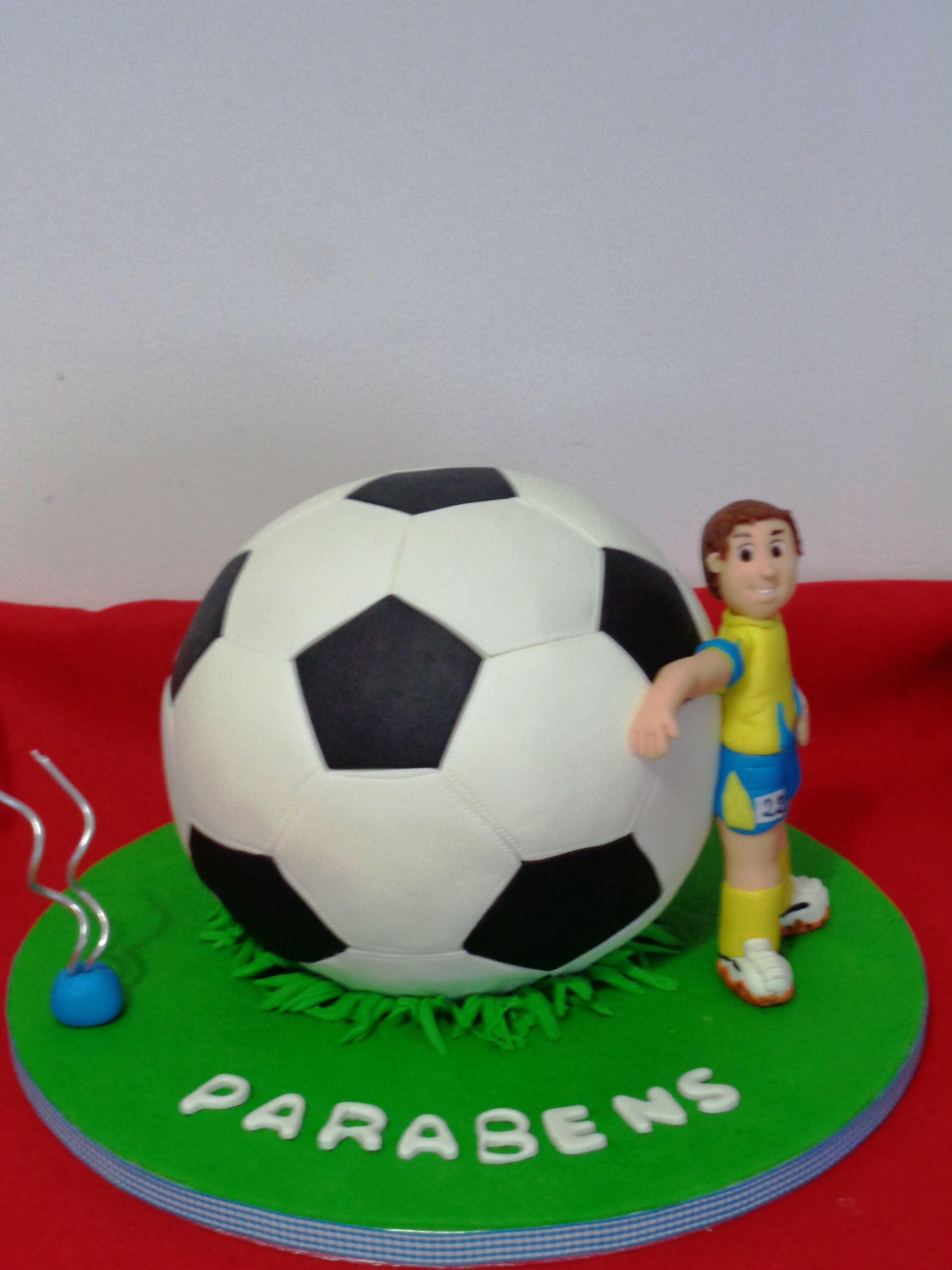 Bola Futebol 3d Festa De Vaqueiro Aniversario Futebol