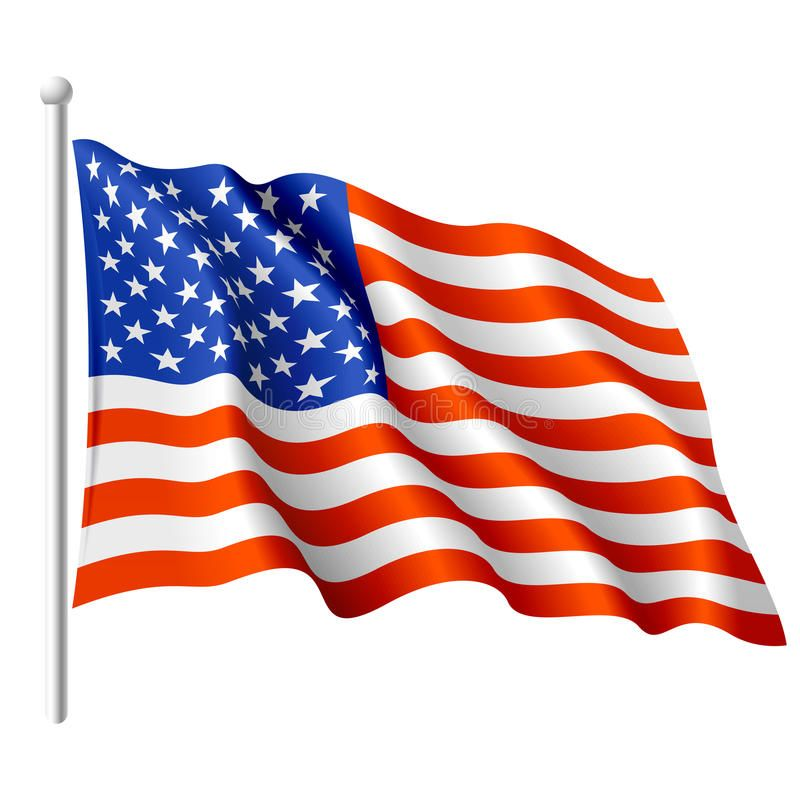 Flag Of The Usa Vector Illustration Of A Flying Flag Of The Usa Sponsored Vector Usa Flag Flag Flying Ad Photoshop For Photographers Vector Flag