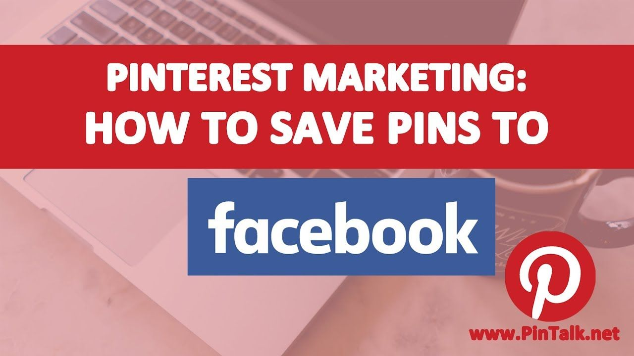 How to Save Pinterest Pins to Facebook