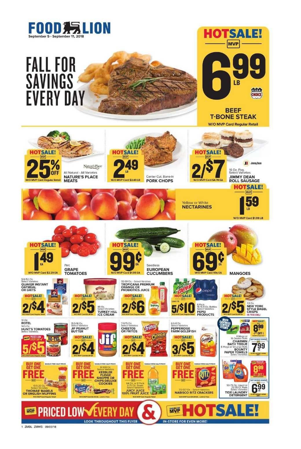 Food Sale: Food Lion Weekly Ad Flyer January 16 - 22, 2019