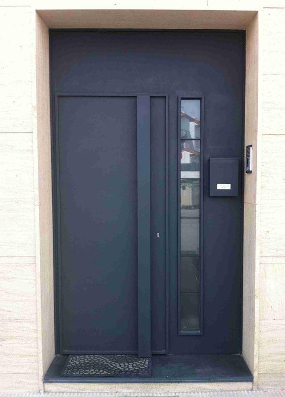 Modelo de puerta de hierro sencilla pesquisa google for Modelos d puertas