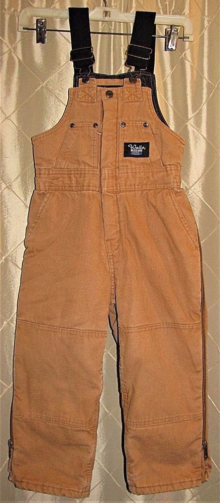 walls blizzard pruf coveralls boys size 6 7 insulated on walls coveralls id=42718