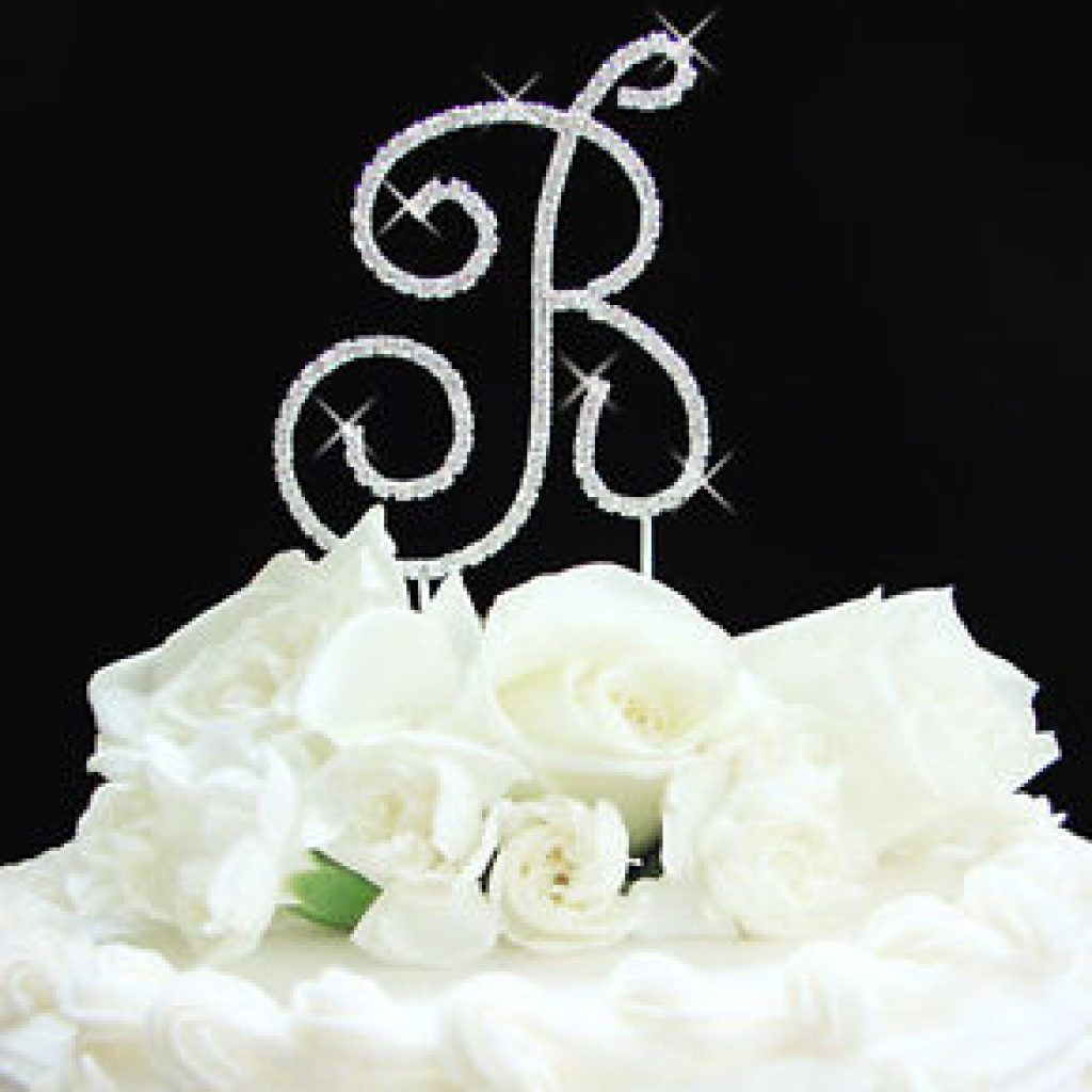 Diy monogram cake topper gold monogram cake topper gold