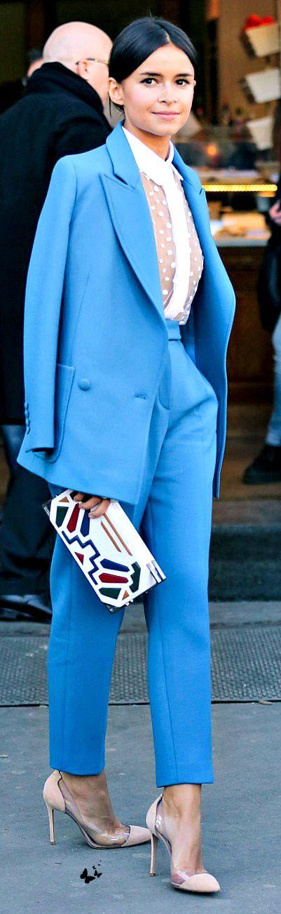 Tiffany Blue Pantsuit