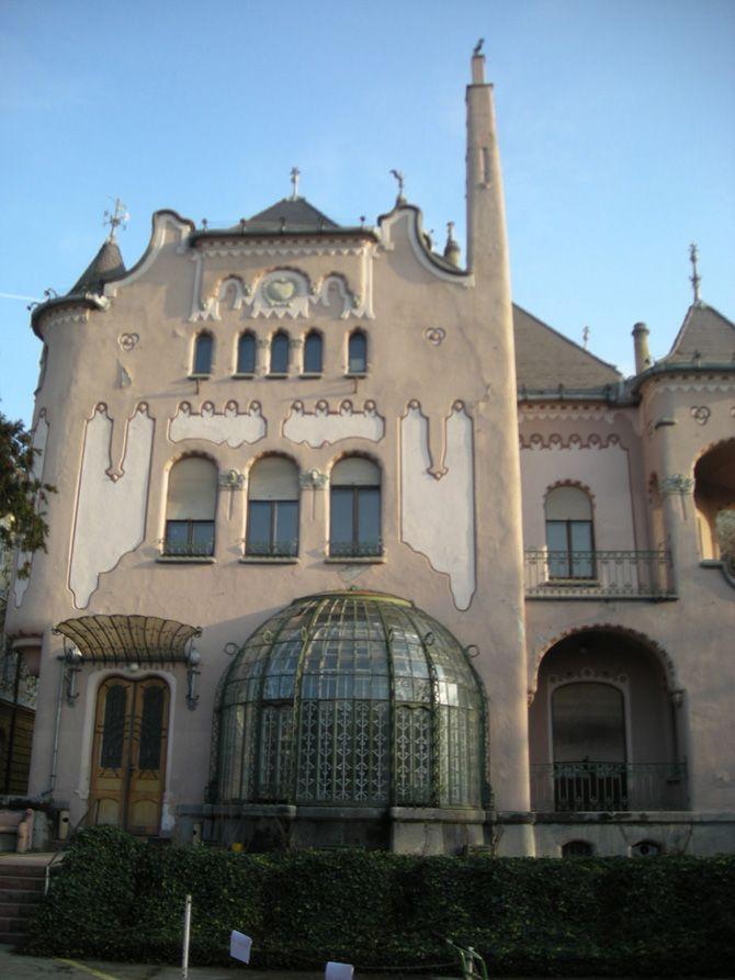 Sipeki Balázs Béla villája on the XIV. Hermina utca 47 in Budapest (1905). Architect: Ödön Lechner