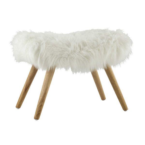 les 25 meilleures id es de la cat gorie tabouret fourrure sur pinterest tapis fourrure. Black Bedroom Furniture Sets. Home Design Ideas