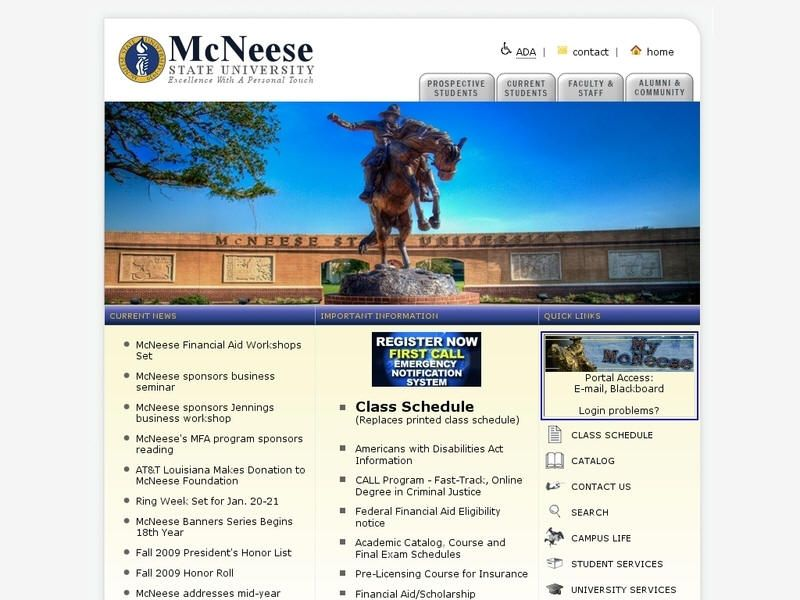 Mcneese State University Kentucky Colleges And Universities List