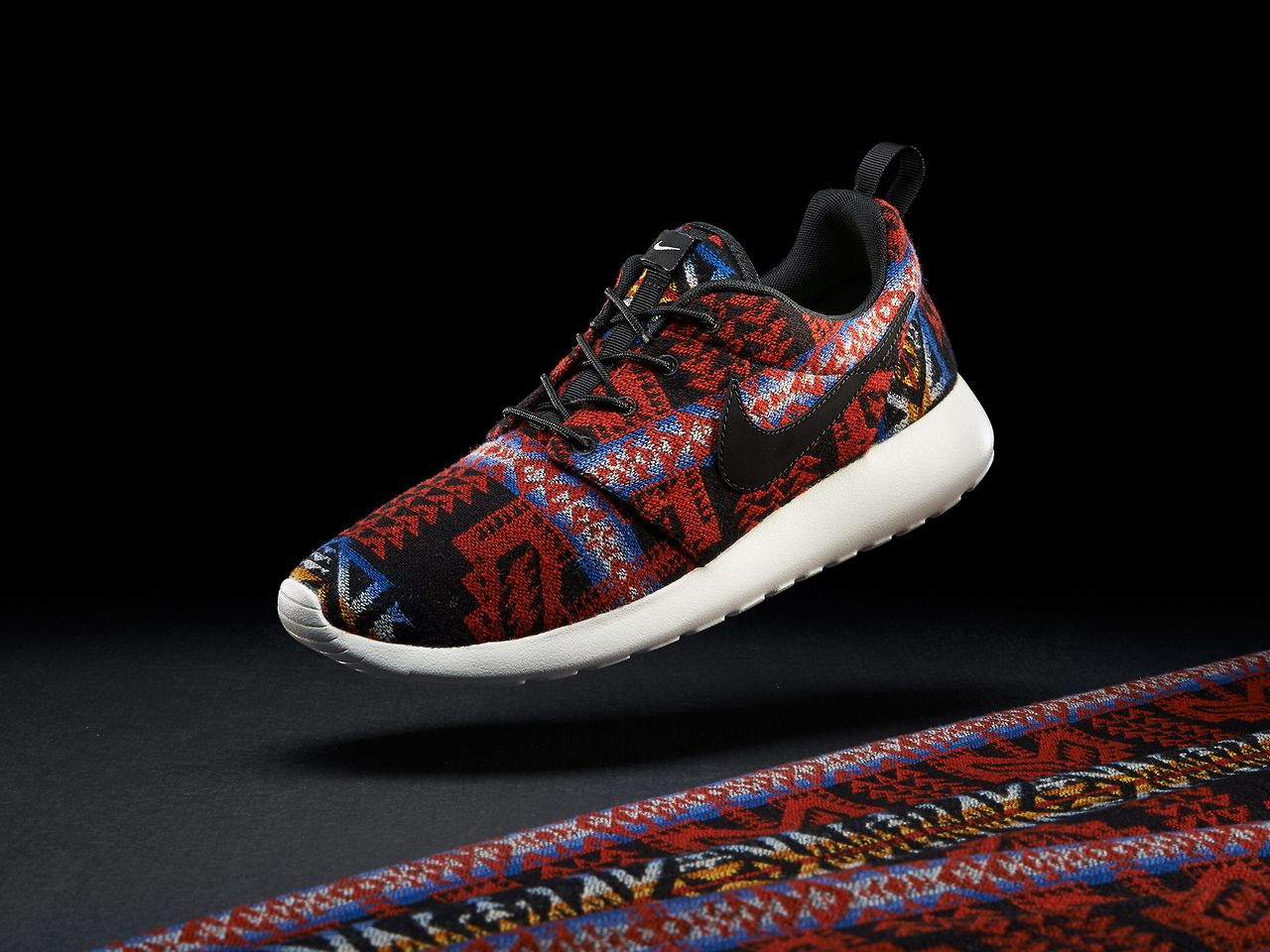 2f297b6f9d1d The Roshe Run iD combines Pendleton Patterns  sneakers