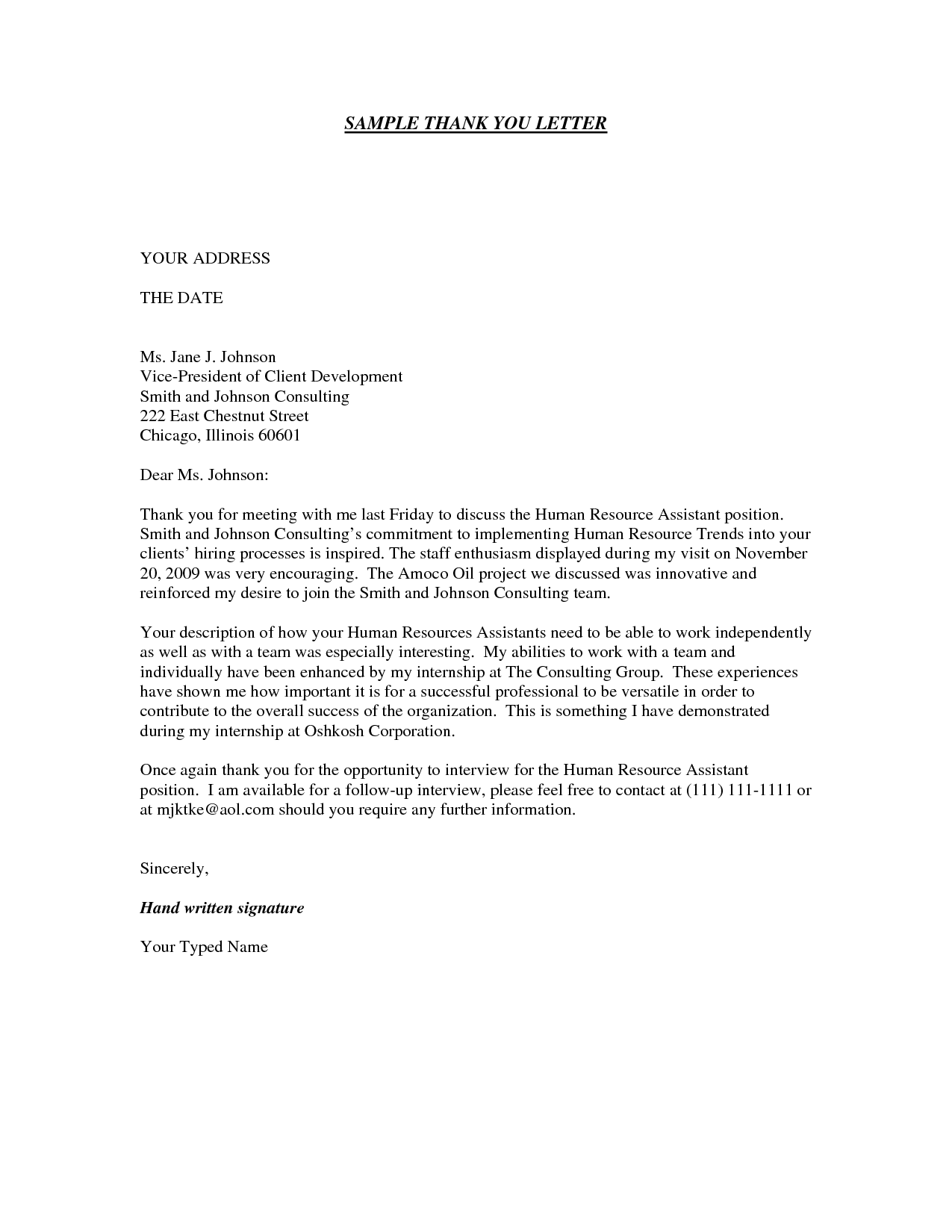 Example Cover Letter Outstanding Cover Letter Examples For Every Job