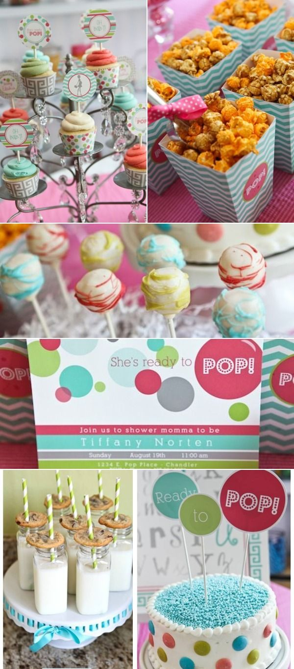 Book color scheme - Color Scheme For The Baby Shower Yellow Bright Pink Lime Green Aquamarine