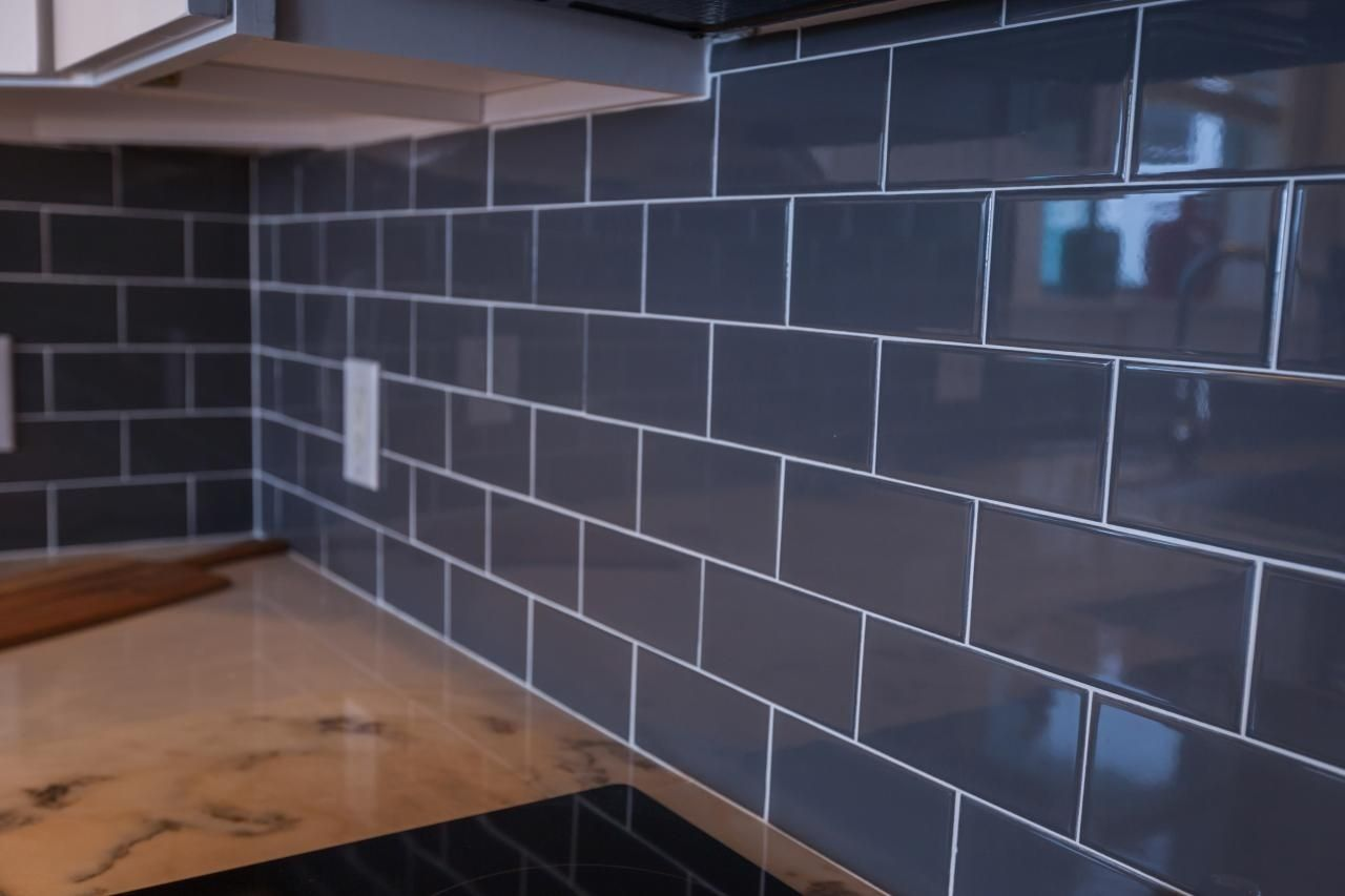 Add classic style to any wall with dark grey subway tiles add add classic style to any wall with dark grey subway tiles add stunning dark grey to dailygadgetfo Images