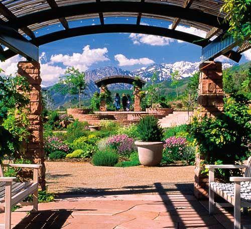 Red Butte Garden Utahs Botanischer Garten Und Arboretum Rot