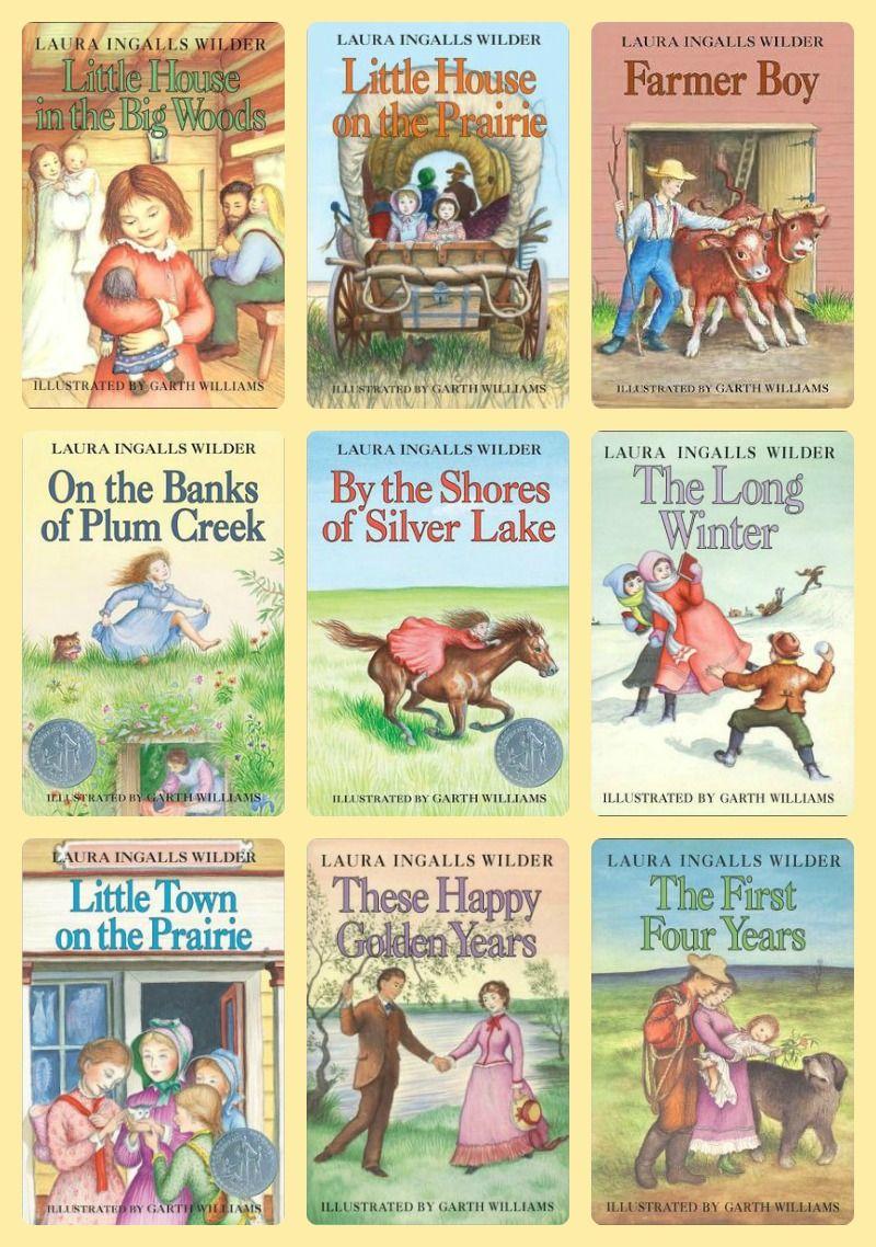 Laura Ingalls Wilder S Little House On The Prairie Book Series