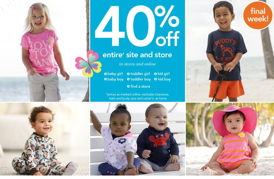 Favorite place to shop for my girl! | Carters baby, Toddler