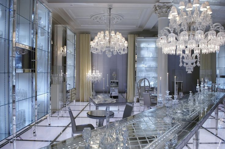 Maison baccarat interior design in moscow by philippe starck
