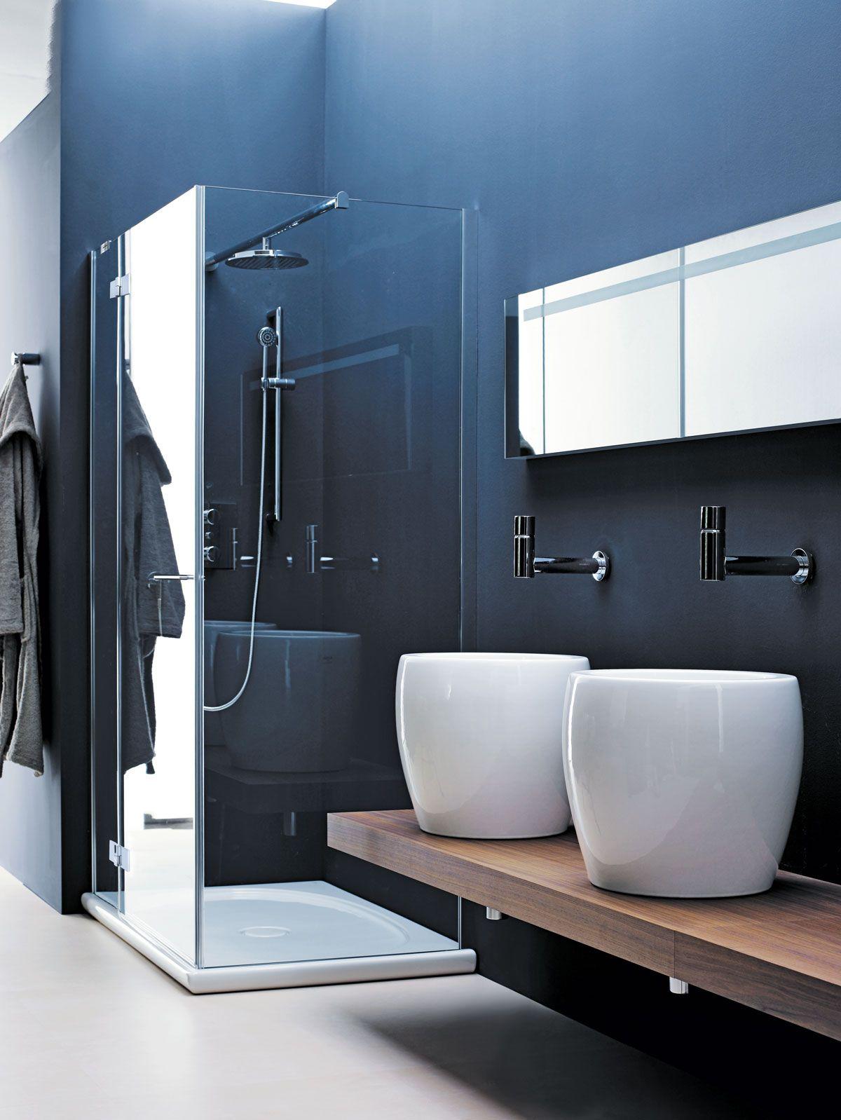 Design badkamer met waskommen | Bathroom Design | Pinterest ...