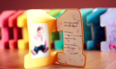Karamella Kunterbunt Eingeladen Einladung 1 Geburtstag