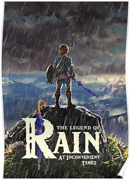 Zelda Breath Of The Wild The Legend Of Rain At Inconvenient Times