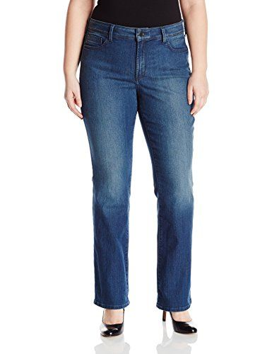 aa2b171c8fd NYDJ Womens Plus Size Barbara Bootcut Jeans Nottingham 22W    Visit the  image link more