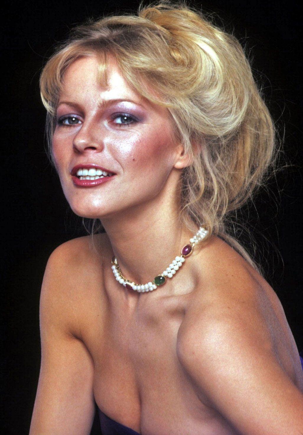 cheryl ladd 1970s lowcut dress world cinema