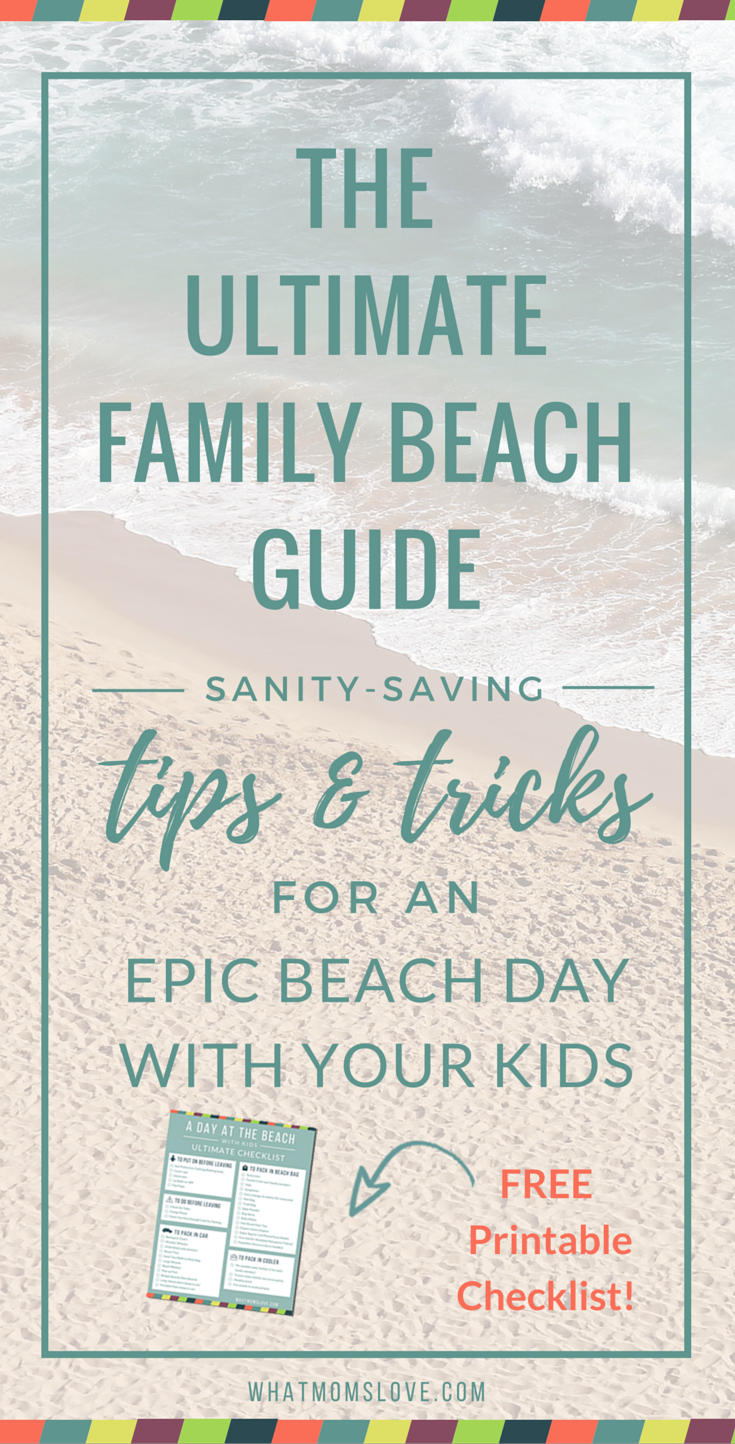 A day at the beach with your kids can be a messy meltdown, or a total blast. With our proven tips and tricks, you'll be beachin' it like a pro in no time. And don't forget to download our Printable Checklist that will make packing for the beach a breeze.