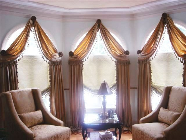 Unique Window Treatment Ideas | Arches Decorated For A Different Look
