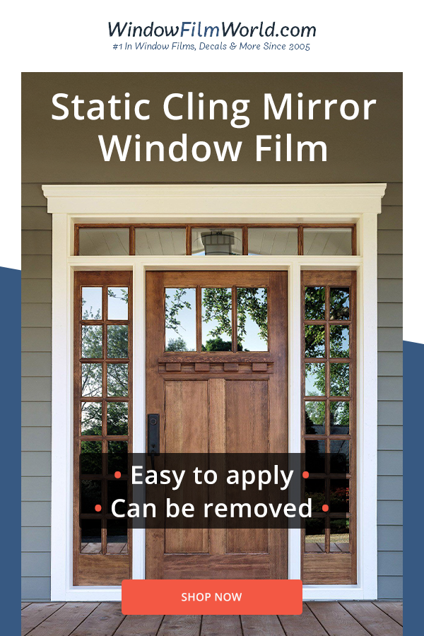 Static Cling Window Film Window Film Window Film Privacy House Exterior